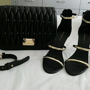 NEW BEBE Shoes and crossbody bag